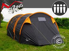 Tentzing camping Tunnel, 4 persons, Orange/Dark Grey